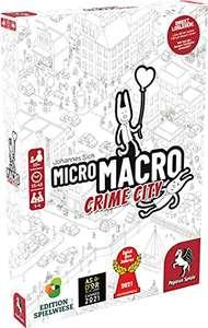 Pegasus 59060G - MicroMacro: Crime City Spiel des Jahres 2021 (PRIME)