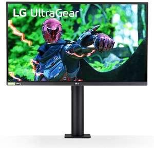 "[cyberport] LG 27GN880-B - 27"" WQHD 144Hz IPS Monitor (350cd/m², 1ms, 99% sRGB, FreeSync Premium, G-Sync, ergonomisch, VESA) mit C-Klemme"