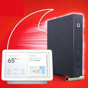 Vodafone Red Internet & Phone Cable inkl. gratis Google Nest Hub: z.B. 100er Tarif mit 345€ Bonus oder 250er Tarif mit 365€ Bonus