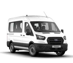 Privatleasing: Ford Transit Kombi 350L2H2 2,0TDCi / 130PS (konfigurierbar) für 196€ (eff 218€) monatlich - LF:0,44