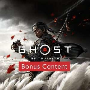 (PS4/PS5) Ghost of Tsushima – Bonus-Inhalte (Playstation Plus Exclusive)