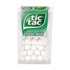Tic Tac fresh mint Dragées 36 Packungen à 18g