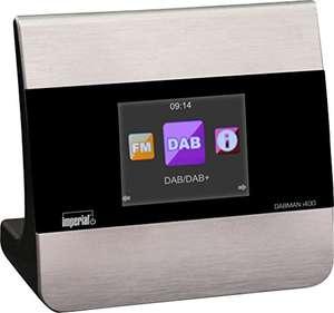 [Amazon & Galaxus] Imperial Dabman i400 Internet-/DAB+ Radio (Stereo, Internet/DAB+/DAB, Bluetooth, Multiroom, Equalizer, UPnP, WLAN, LAN)