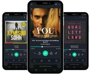 45 Tage Podimo kostenlos - unbegrenzt Hörbücher & Podcasts im Probeabo hören (z.B. Känguru-Chroniken, Qualityland 2.0, etc.)