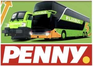 20% Rabatt auf alle FlixBus & FlixTrain Tickets bei Penny - ab 23.08.