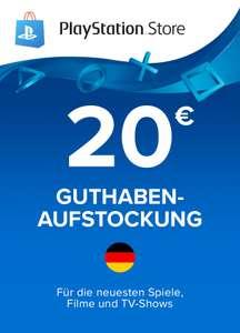 PSN Guthaben - PlayStation Store Karte 20€