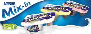 [Edeka + Edeka Center Minden-Hannover bis 21.08.] Nestlé Mix-in Smarties Joghurt mit Couponplatz Coupon für 0,39€