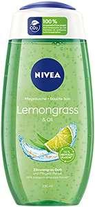 Amazon Prime: 5x Nivea Duschgel Lemongrass&Oil , je 250ml Inhalt, gerundet 95 Cent je Duschgel, weitere Sorten zu gleichem Preis