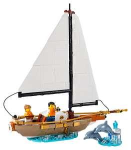 Lego Ideas Exklusivset Segelboot 40487 Gratisbeilage bei Bestellungen ab 200€
