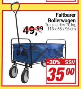[Centershop] Faltbarer Bollerwagen   ohne Dach 35€   mit Dach + Extrafach 50€