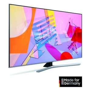 Samsung GQ75Q67TGUXZG titangrau QLED TV (75 Zoll (189 cm), 4K UHD, Smart TV, HDR, Dual LED-Hintergrundbeleuchtung, Quantum Dots)