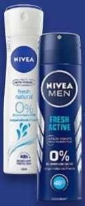 2x NIVEA Deo-Spray (versch. Sorten) je 150ml für zusammen nur 1,98€ (entspr. 0,99€ je Stück) durch Coupon bei Kaufland