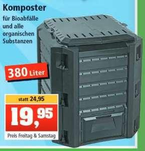 Komposter für Bioabfälle 380 Liter für 19,95€ bei Thomas Philipps