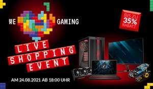 """Alternate Liveshopping: z.B. AMD Ryzen 7 5800X - 319€   HP Omen 15-en1155ng - 899€ (15.6"""", IPS, 144Hz, Ryzen 5 5600H, 8/512GB, RTX 3060)"""