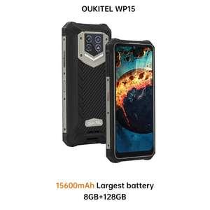 Oukitel WP15 Outdoor Smartphone 15600mAh, 128GB+8GB, 5G, Mediatek Diensity 700, 1600x720, NFC