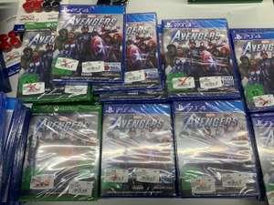 [Lokal] Media Markt Buchholz Marvel Avengers 3 Euro & andere Games