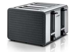 [Für uns Shop] BOSCH 4-Schlitz-Toaster TAT7S45 in grau