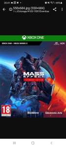Mass Effect Legendary Edition Xbox One/Series x