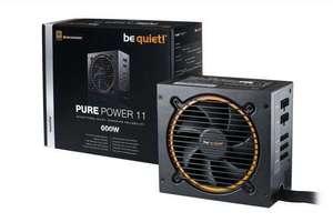 be quiet! Pure Power 11 CM 600W Netzteil (80 Plus Gold, teilmodular, 5 Jahre Garantie)