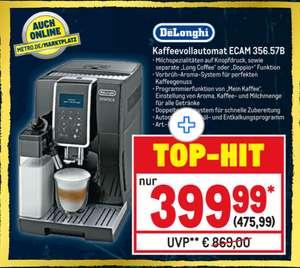 De'Longhi Kaffeevollautomat Dinamica ECAM 356.57.B