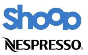 Nespresso & Shoop 10% Cashback + 5€ Shoop-Gutschein (119€ MBW)