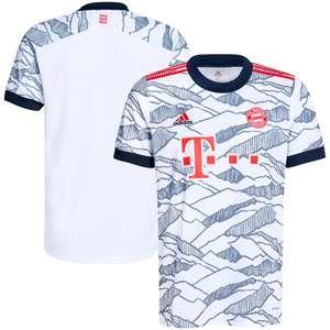 Neues FC Bayern München Trikot 2021/2022 Ausweichtrikot (3rd) @SC24
