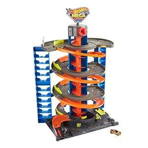 Hot Wheels City Power-Parkgarage Spielset mit 1 Hot Wheels Fahrzeug im Maßstab 1:64 für 49,30€ (Amazon)