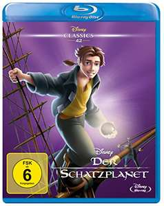 Amazon: Der Schatzplanet - Disney Classics Bluray für 9,99€ (versandkostenfrei durch Prime oder Packstation)