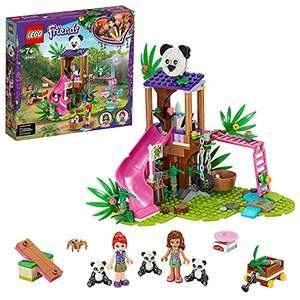 LEGO 41422 Friends Panda-Rettungsstation, mit Baumhaus, Mini Tierfiguren Pandas und Mini Puppen Mia & Olivia (Prime)