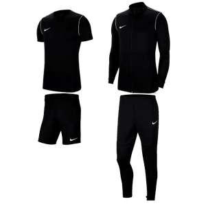 Nike Set: Trainingsset Park 20 mit Langarmshirt- und hose + kurze Hose + T-Shirt