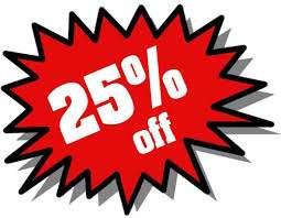25% auch auf Sale Artikel im DLager bis 28.8