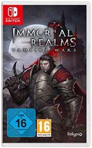 Immortal Realms: Vampire Wars (Switch) für 9,99€ & (PS4) für 7,99€ (Amazon Prime & GameStop)
