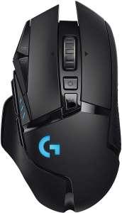 Logitech G502 Lightspeed Wireless Gaming Maus (HERO 16K DPI, RGB, Powerplay-Kompatibel) [Amazon]