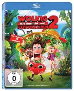 Wolkig mit Aussicht auf Fleischbällchen 2 (Blu-ray) für 3,99€ (Amazon Prime & Saturn & Media Markt)