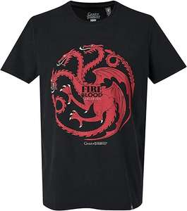 GOZOO Game of Thrones T-Shirt Herren House Targaryen - Fire and Blood
