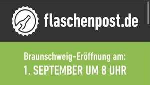 Lokal Braunschweig (Ausgewählte Gebiete) Flaschenpost Lieferdienst Eröffnungsangebote