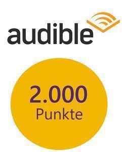 [DeutschlandCard] 2000 Punkte (20€) für Audible Hörbuch Abo (effektiv 10,05€ bis 17,05€ Gewinn)