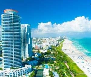 Flüge: Miami / USA (bis März 2022) Hin- und Rückflug von München und Frankfurt ab 285€