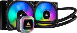 Corsair H100i RGB Platinum 240 AIO CPU Wasserkühlung [Gebraucht-Sehr gut] Amazon Prime WHD