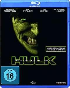 Der unglaubliche Hulk (US-Kinofassung Blu-ray) für 5,97€ (Amazon Prime)