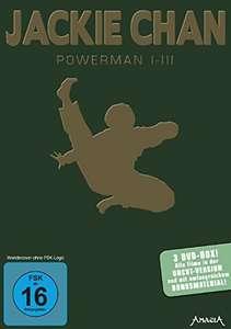 Jackie Chan - Powerman I-III (3 DVDs) für 7,76€ (Amazon Prime)