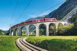 Bernina Express: 20% Rabatt auf Zug Tickets