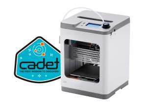 "Monoprice MP Cadet 3D-Drucker (100x100x105mm Druckgröße, Bowden-Extruder, PLA-Filament, ABL, nicht beheizt, 2.5"" LCD, WLAN, USB, microSD)"