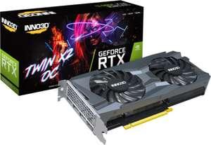 INNO3D GeForce RTX 3060Ti Twin X2 8GB GDDR6 Grafikkarte 3xDP/HDMI
