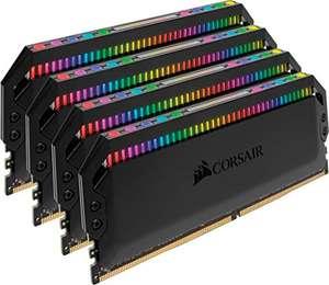 Corsair Dominator Platinum RGB DIMM Kit 32GB, DDR4-3600, CL18-19-19-39 (CMT32GX4M4C3600C18)