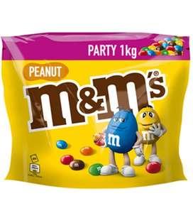 PRIME (Personalisiert) M&M'S   Peanut   Schokolinsen mit Erdnusskern   Eine Packung (1 x 1 kg) SPARABO