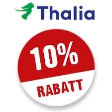 [Thalia Online & App] 10% Rabatt auf fast ALLES bis 30.08.