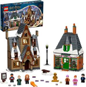 LEGO Harry Potter - Besuch in Hogsmeade Set zum 20. Jubiläum mit Ron als goldene Minifigur (76388) für 48,99€ (Smyth Toys)