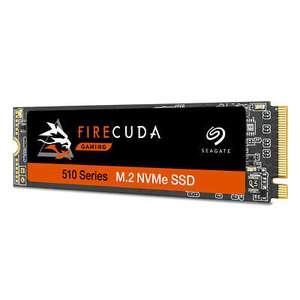 Seagate FireCuda 510 SSD 1TB M.2 PCIe 3.0 x4 NVMe - internes Solid-State-Module