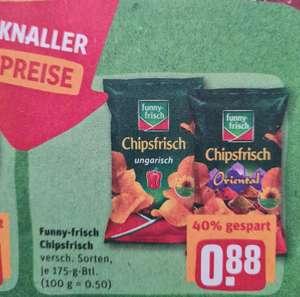 Funny-frisch Chipsfrisch je 175 g Btl. verschiedene Sorten ab 30.08 Rewe